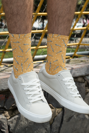 Rod of Asclepius Socks