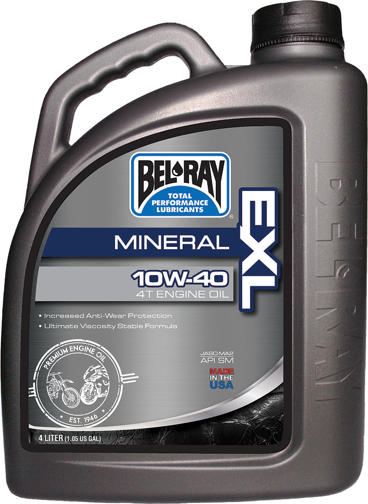 Exl Mineral 4t Engine Oil 10w-40 4l