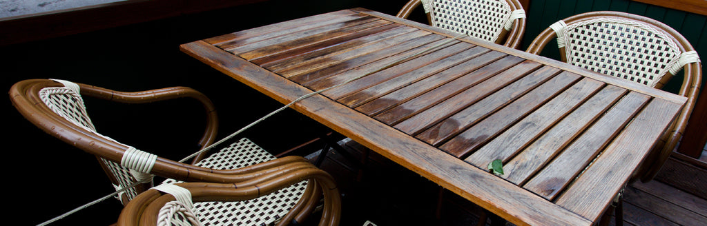 can patio furniture be left outside during winter