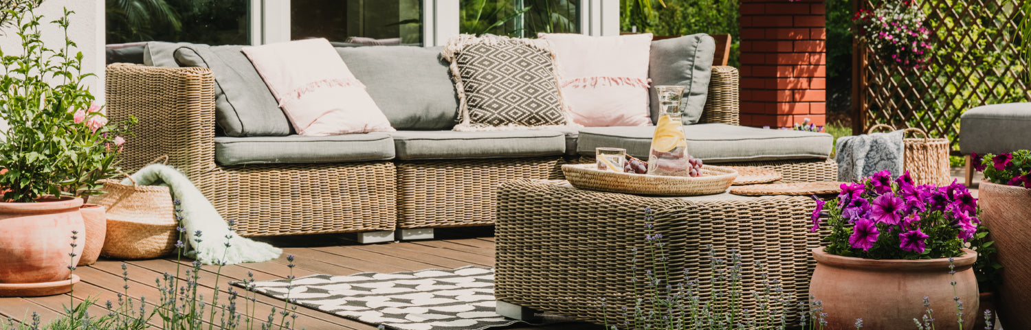 Our guide to choosing the best outdoor furniture for rainy weather