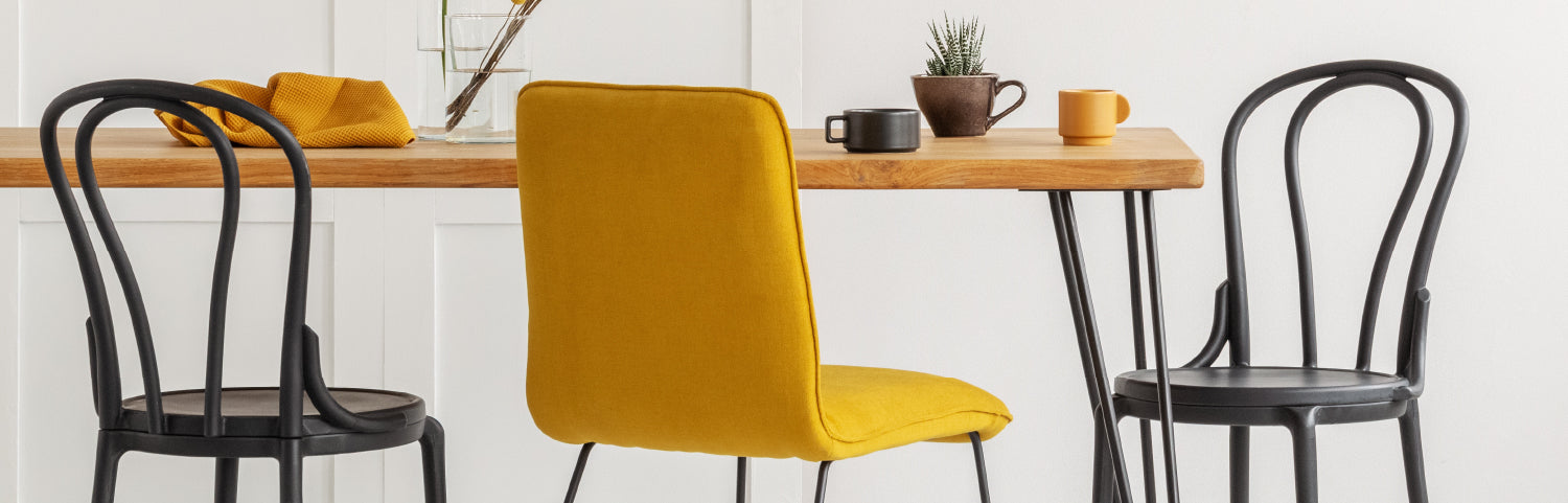 Different furniture materials and shapes can have an effect on the comfort of your dining room set.