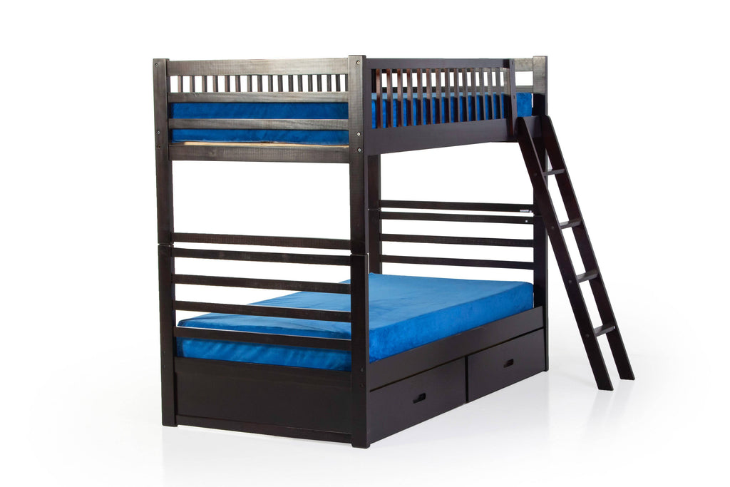 Twin Bunkbed With Drawers