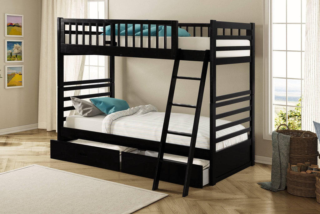 Twin Bunkbed With Bonus FREE Drawers