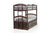 Twin Over Twin Bunk Bed Including Trundle Unit