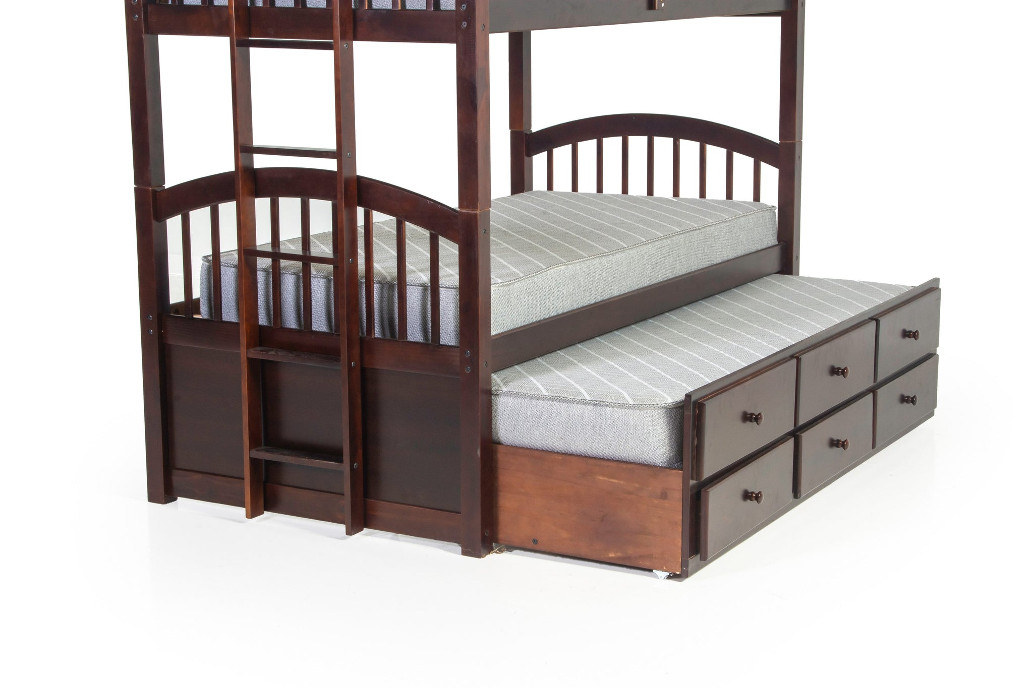 Twin Over Twin Bunk Bed Including Trundle Unit Bel Furniture