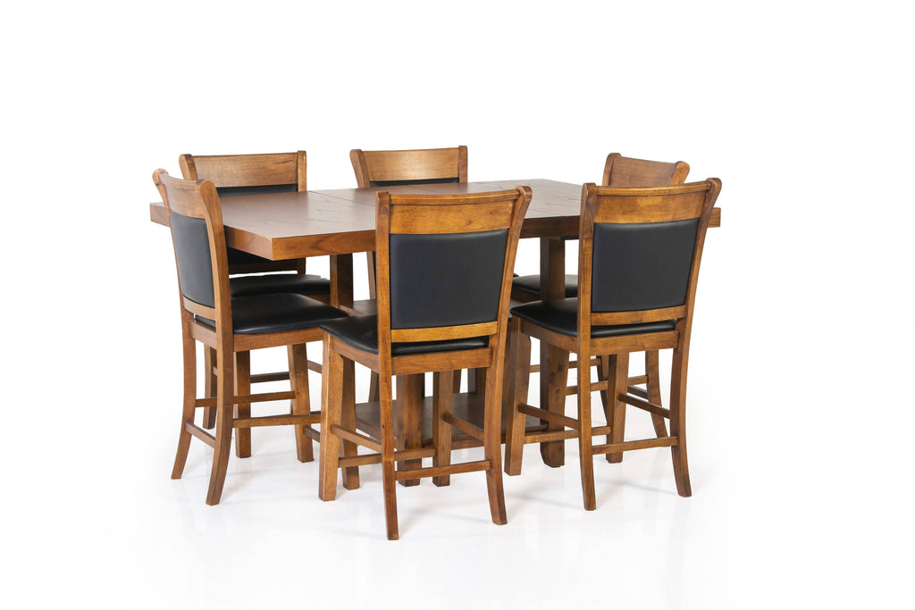 7 Piece Counter Height Dinette Set