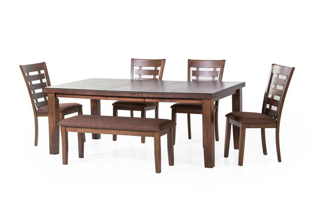 6 PIECE DINING ROOM SET