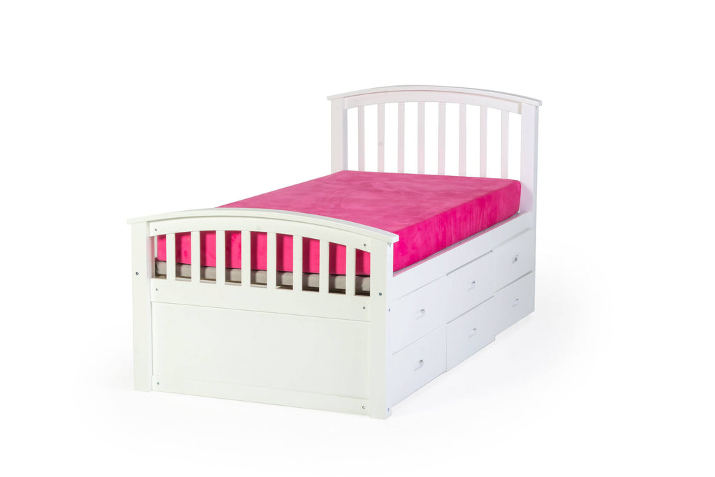 3 Piece Mission Style Captain Bed