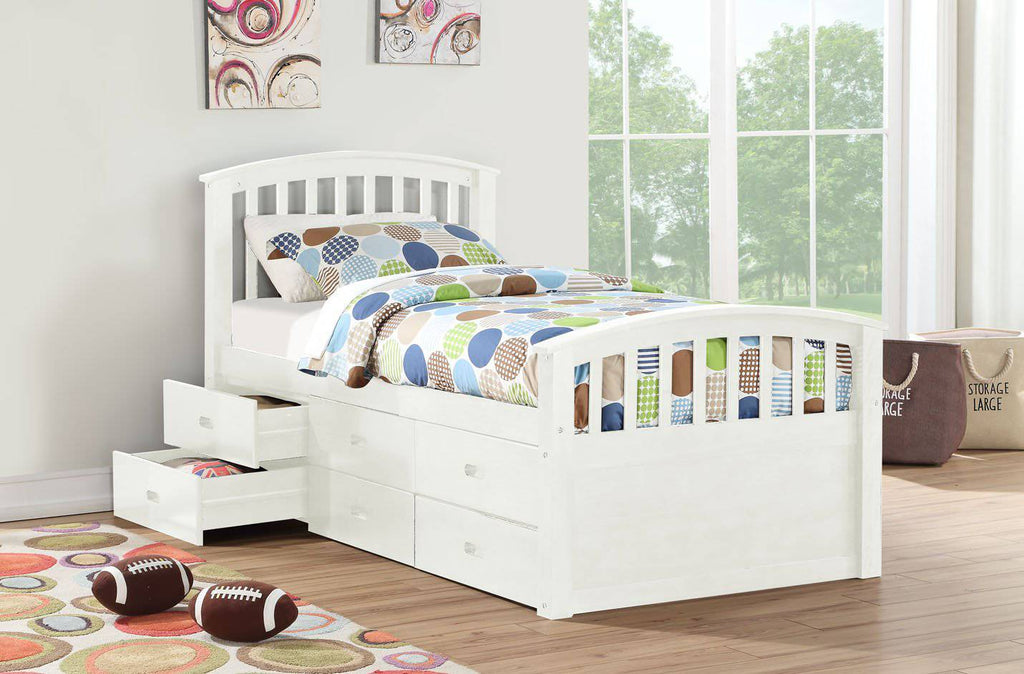 3Pc Mission Style Captain Bed