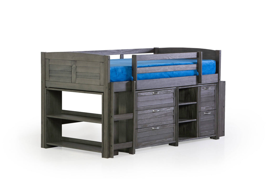 5 Piece Twin Youth Loft Bed