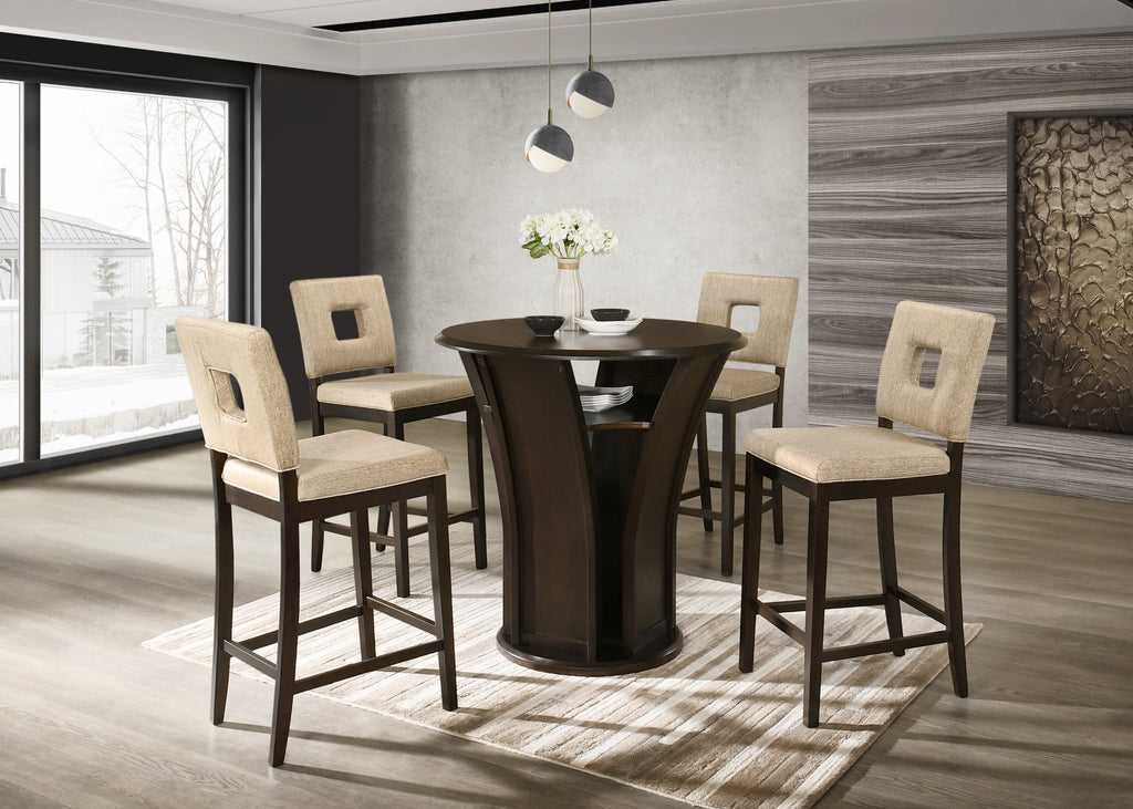 5 PIECE PUB DINING ROOM SET