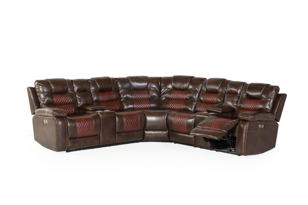 3 PIECE POWER MOTION SECTIONAL