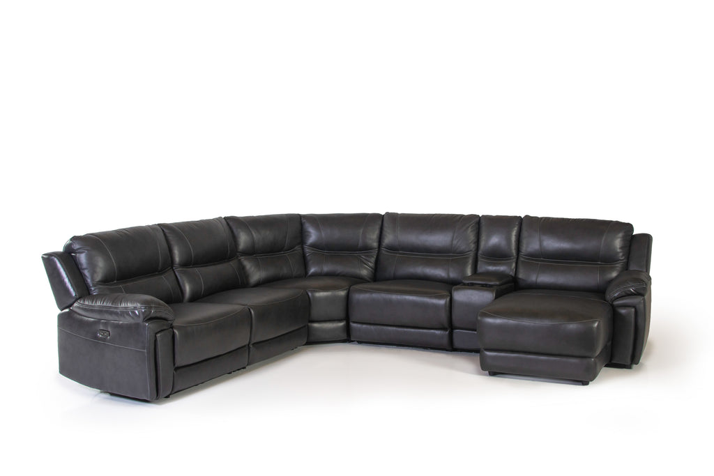 6 PIECE POWER MOTION SECTIONAL