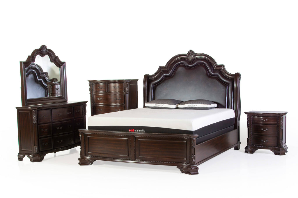 6 Piece King Bedroom Set