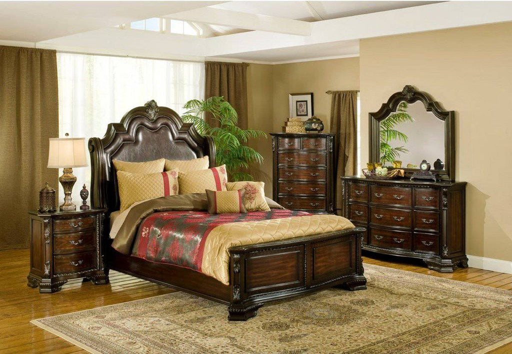 6Pc King Bedroom Set- Online Only