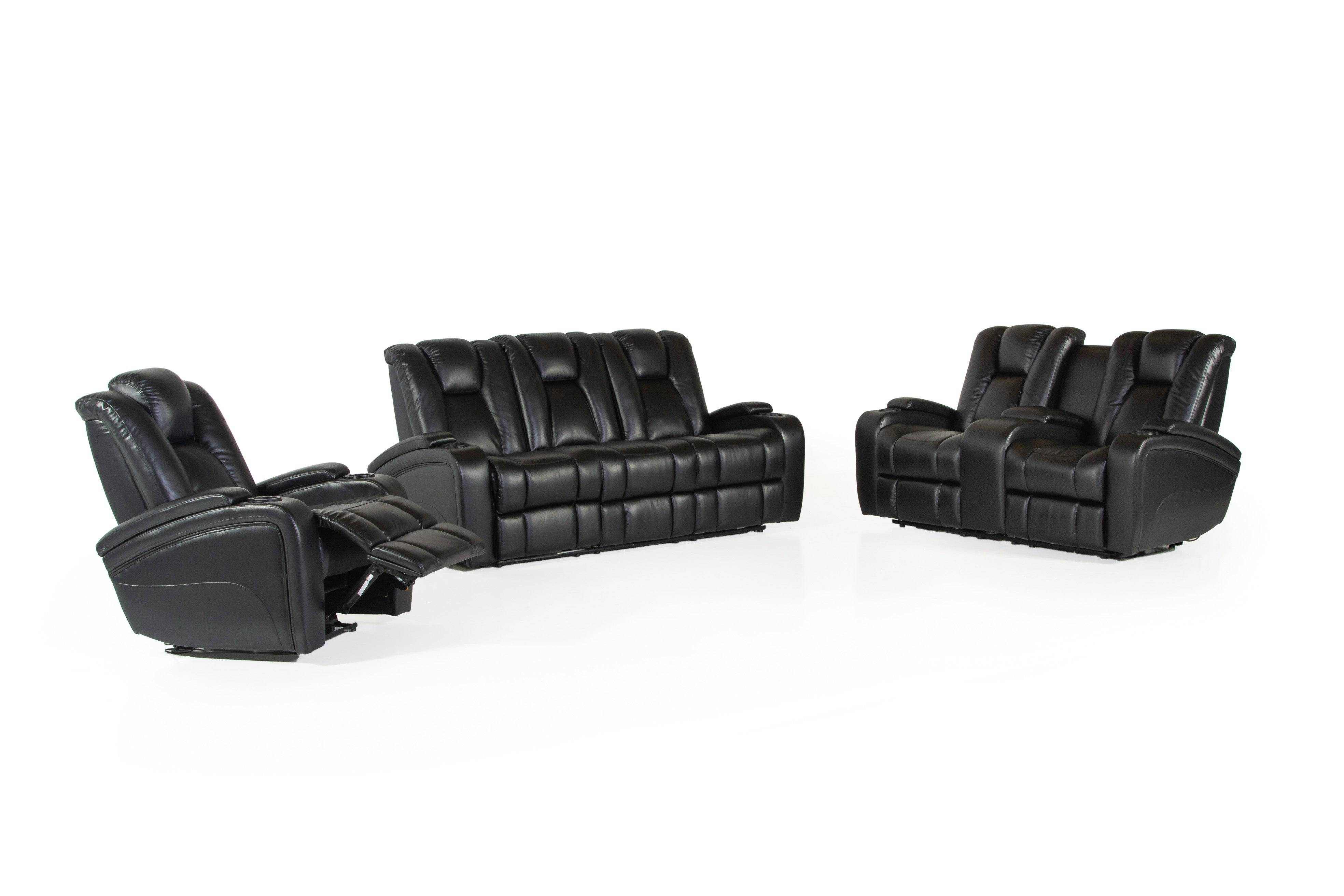 3 Piece Power Motion Living Room Set Bel Furniture