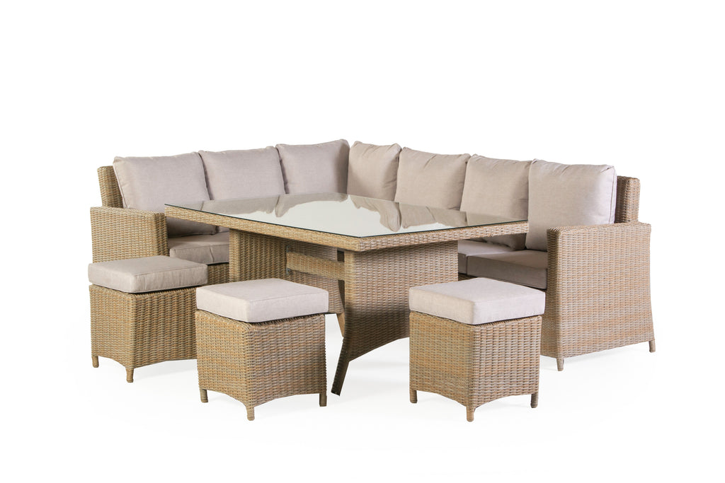 6 PIECE OUTDOOR PATIO SET