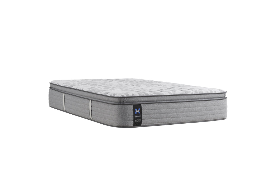 SEALY SILVER PINE KING EURO PILLOW TOP