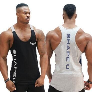 a02dc8e9d4b1f5 ... Gymnorth Mens Body Slimming Compression Sleeveless Tight T Shirt  Fitness Moisture Wicking Workout Vest Muscle Tank ...