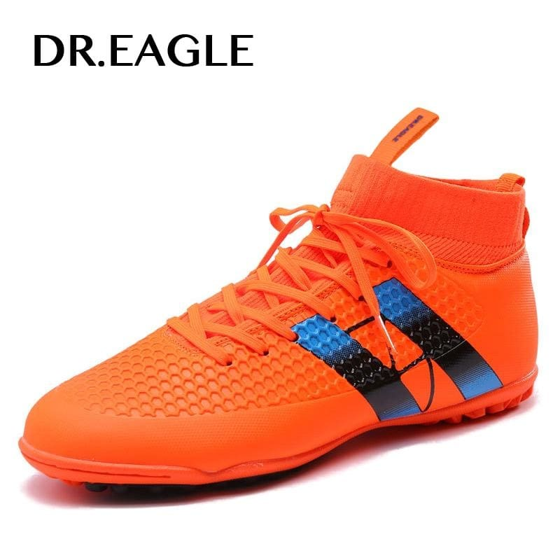a1f319c0a98a Men s Sneakers for futsal Turf High Ankle Indoor Futzalki for football  Boots Shoes Kids Soccer Cleats boot original professional