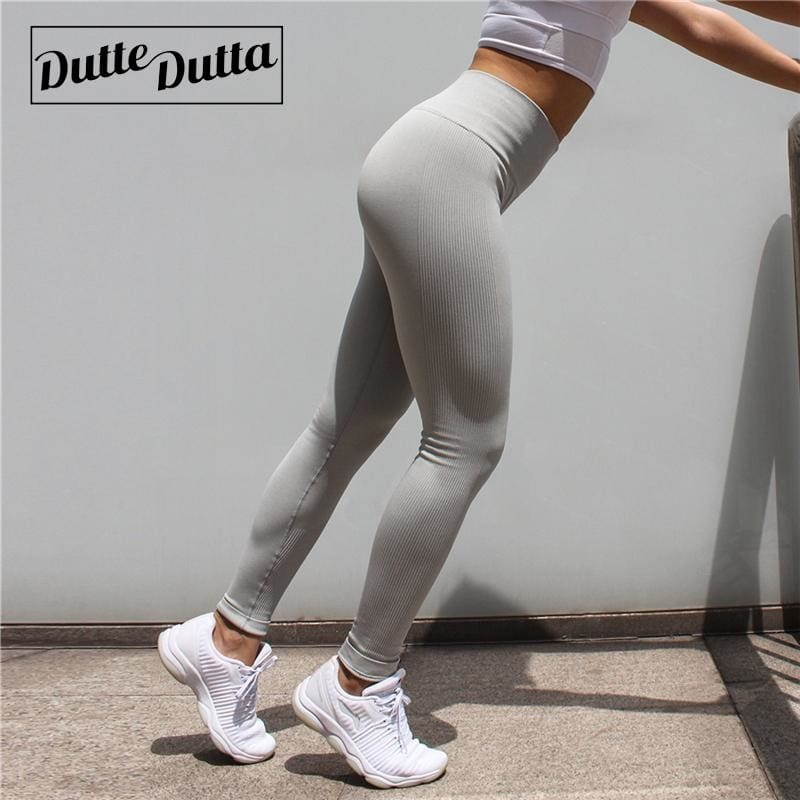 4ee3850ce79c2 Tights Sportswear Woman Gym Yoga Pants Sports Seamless Sport Leggings  Leggins For Fitness Compression Solid Slim Running Clothes