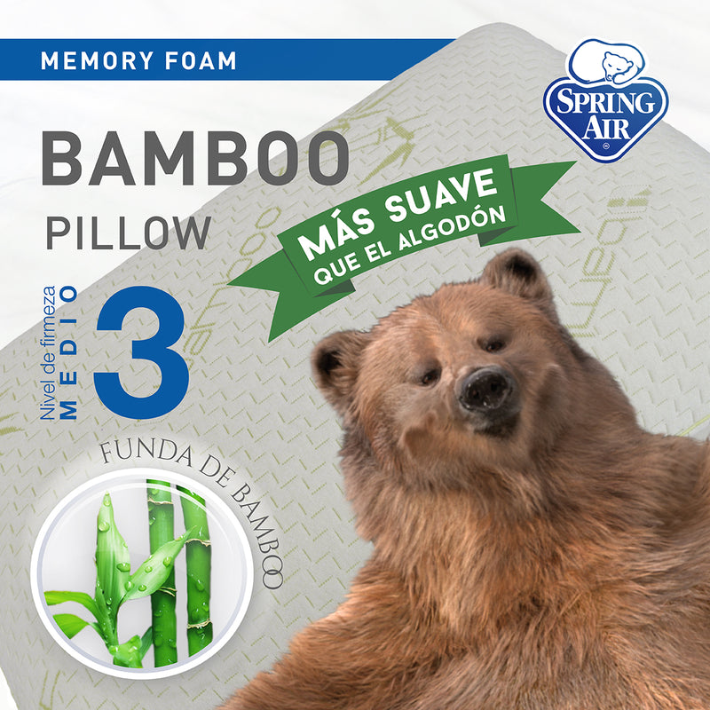 Almohada Comfort Plus - Firmeza media