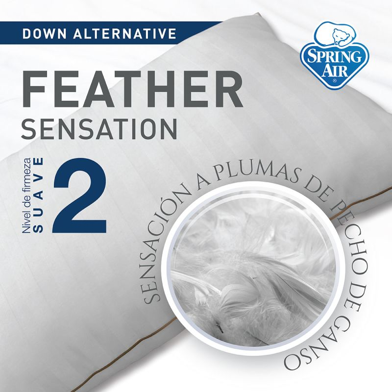 Almohada Feather Sensation - Suave