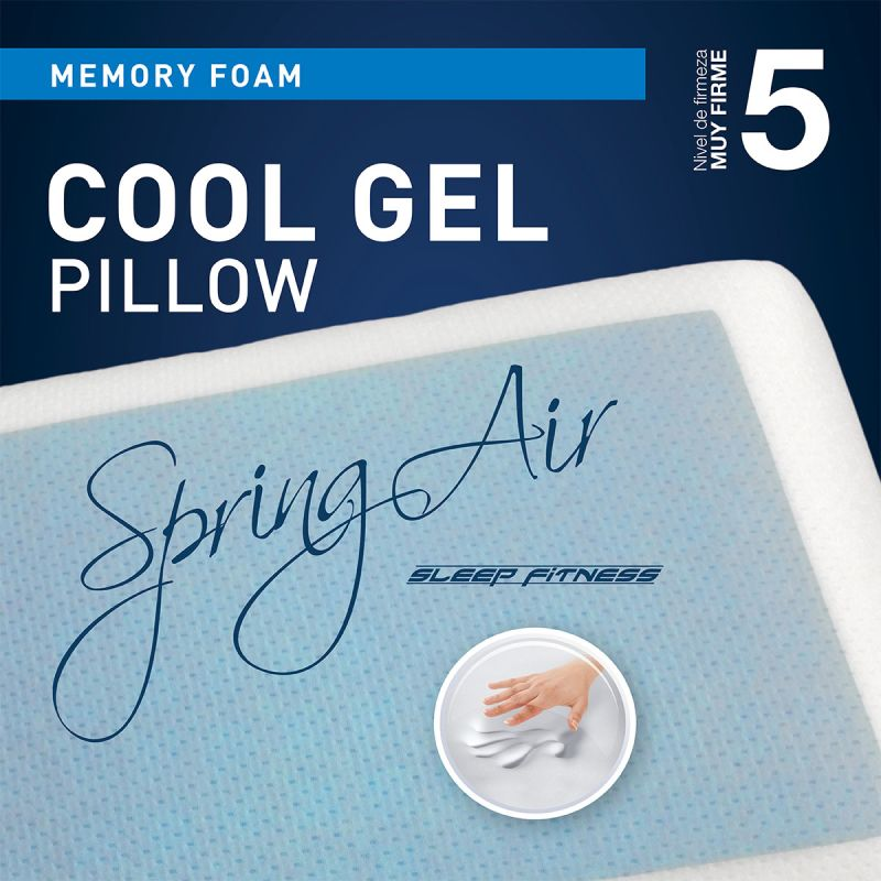 Almohada Cool Gel - Muy Firme