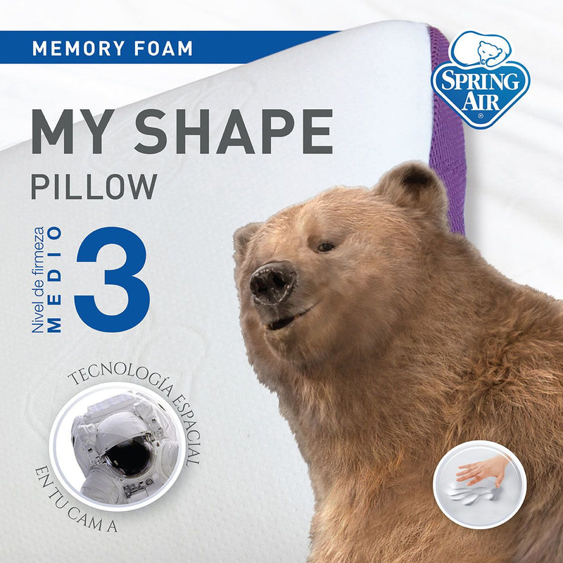 Almohada My Shape - Firmeza media
