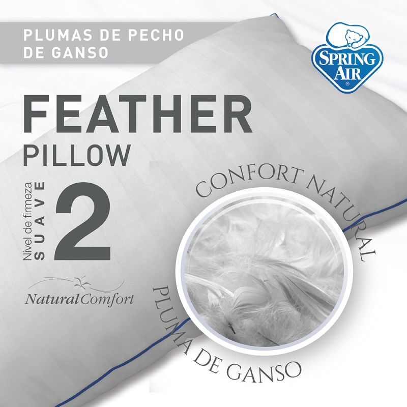 Almohada Feather - Suave