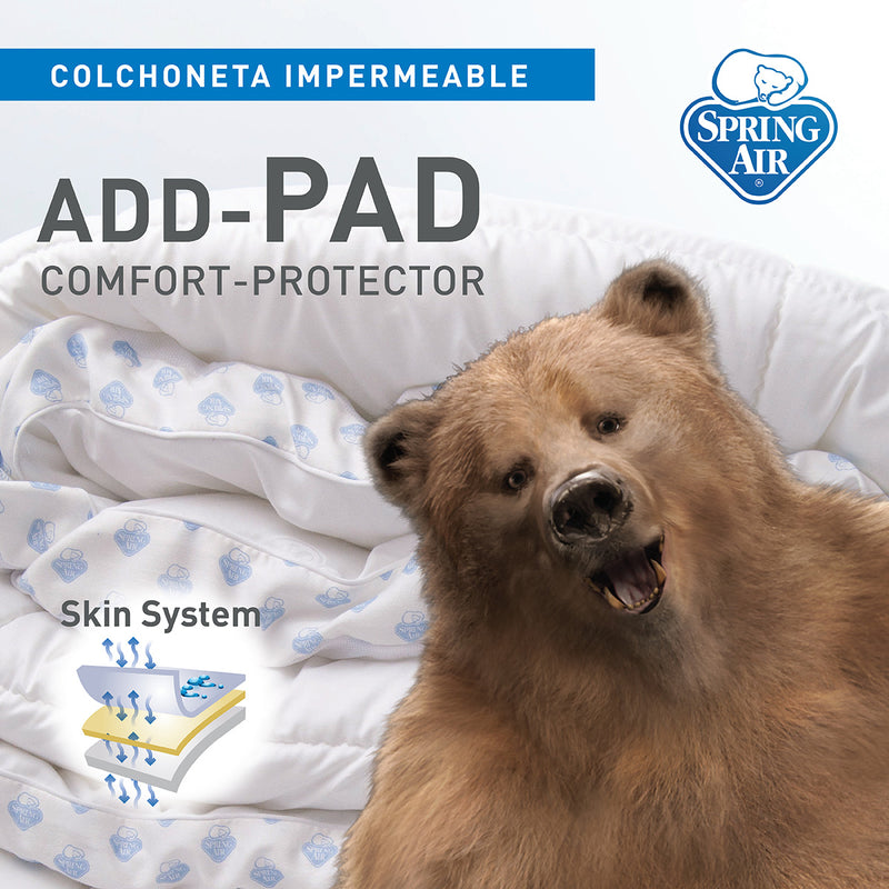 Colchoneta Impermeable - ADD - PAD Confort - Protector