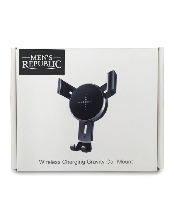 Men's Republic Wireless Car Phone Charger - Suitable for all Mobiles with Qi technology
