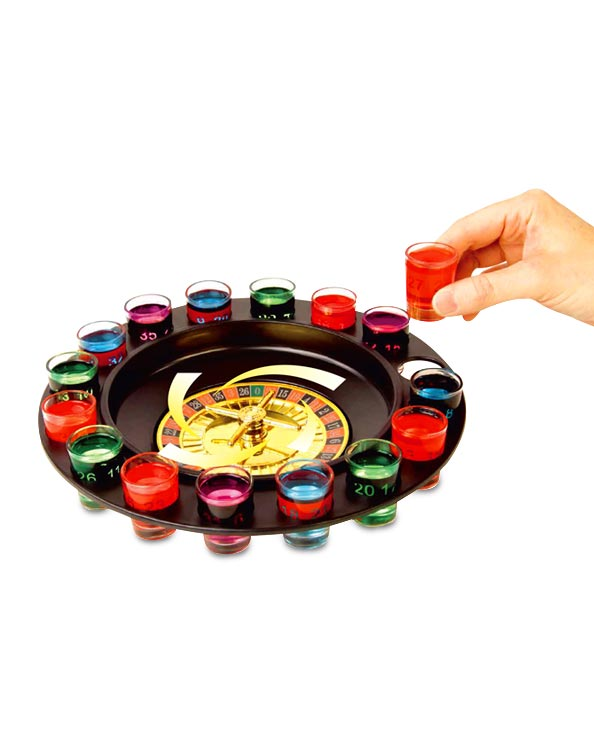 Men's Republic Roulette Shots Drinking Game