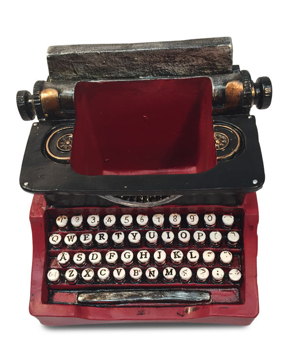 Men's Republic Desktop Décor - Vintage Typewriter Stationary Holder