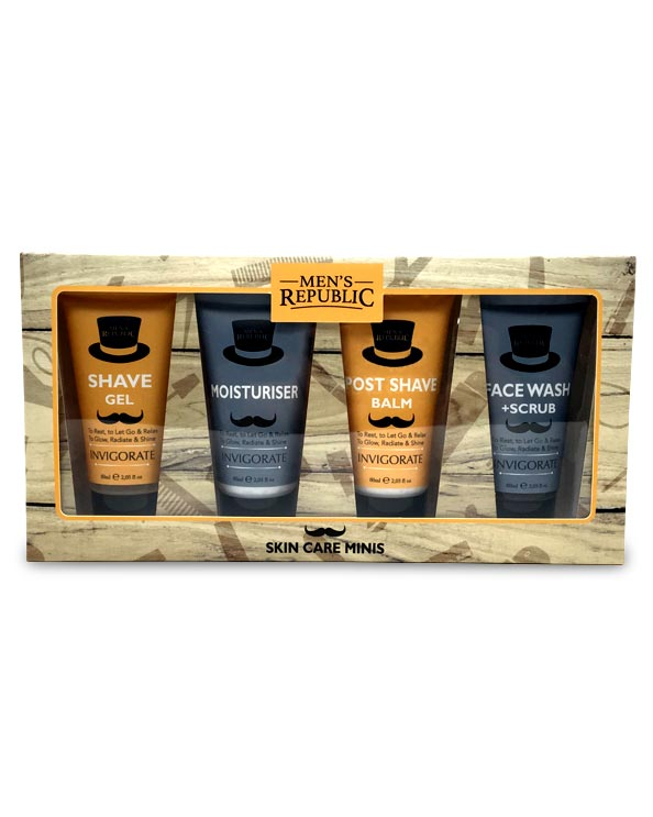 Men's Republic Grooming Kit - Skin Care