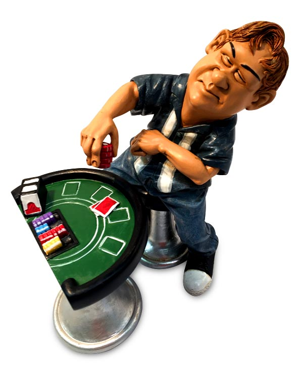 Men's Republic Comical Dude Décor - The Gambler
