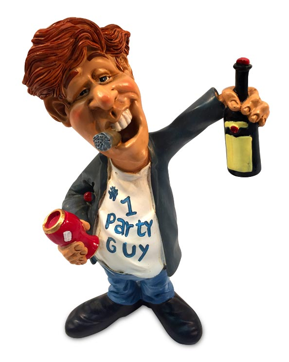 Men's Republic Comical Dude Décor - The Party Guy