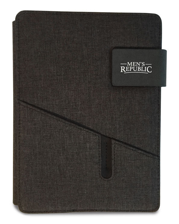 Men's Republic Hands-free A5 Portfolio Black