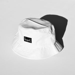 'DUSTED' Bersih logo bucket hat.