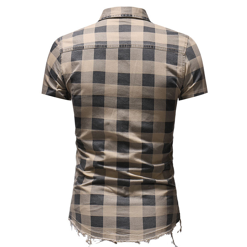Oreste Plaid Shirt