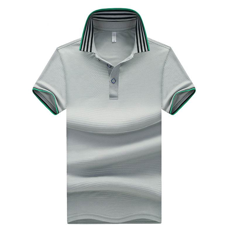 Striped Trim Polo Shirt
