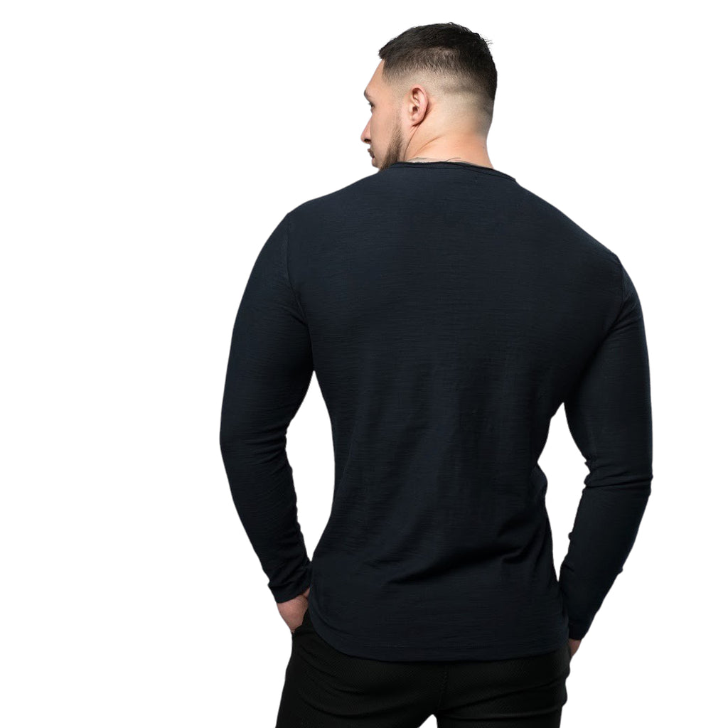 Long Sleeve Muscle Fit Shirt