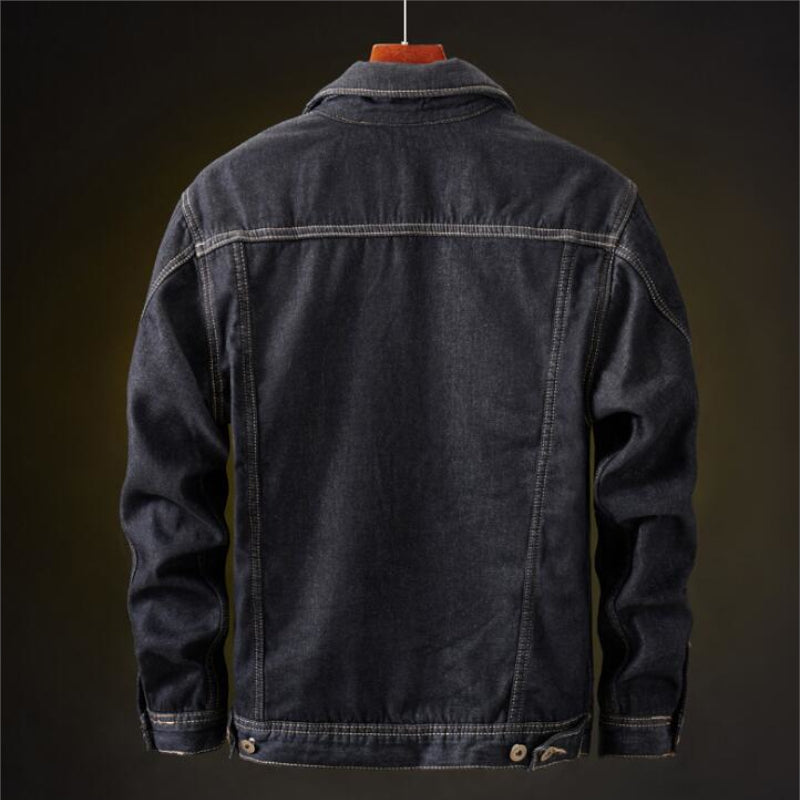 Gastone Classic Warm Denim Jacket