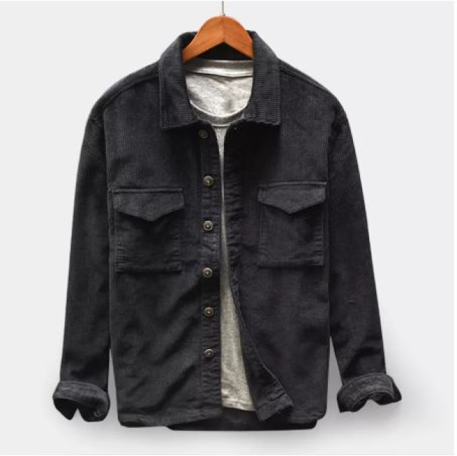 Double Pocket Corduroy Jacket