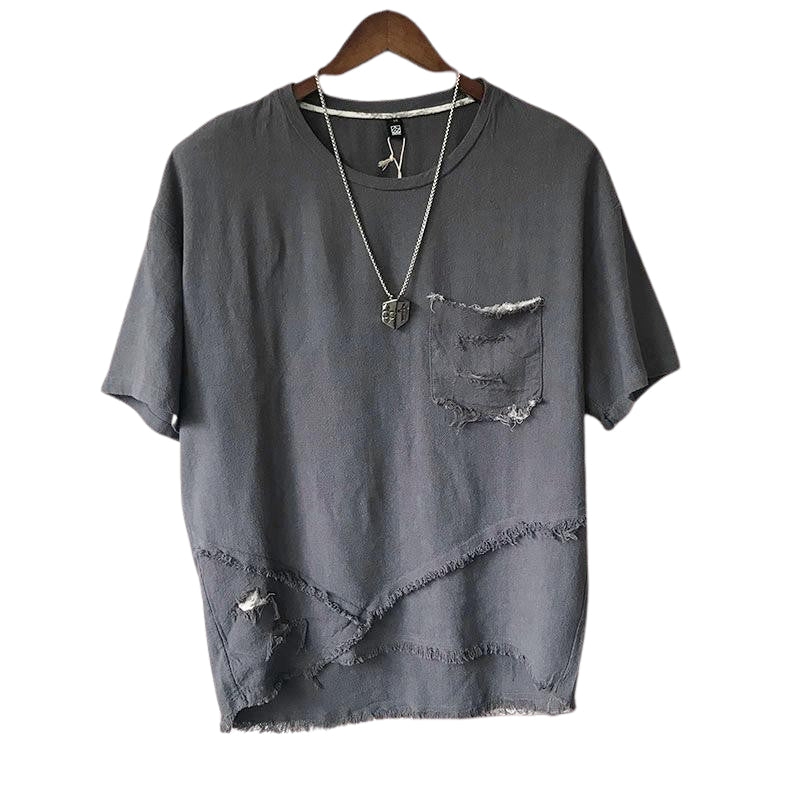 Loose Ripped T-Shirt
