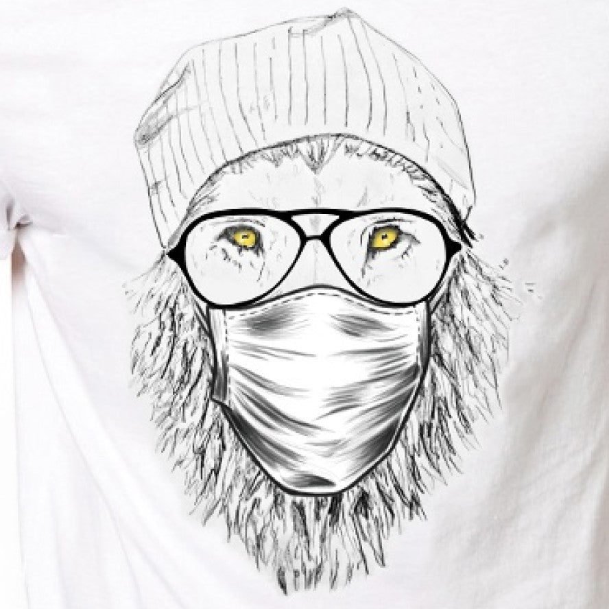 Masked Cool Lion T-Shirt