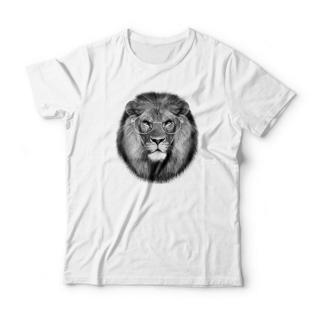 Metal Frame Lion T-Shirt