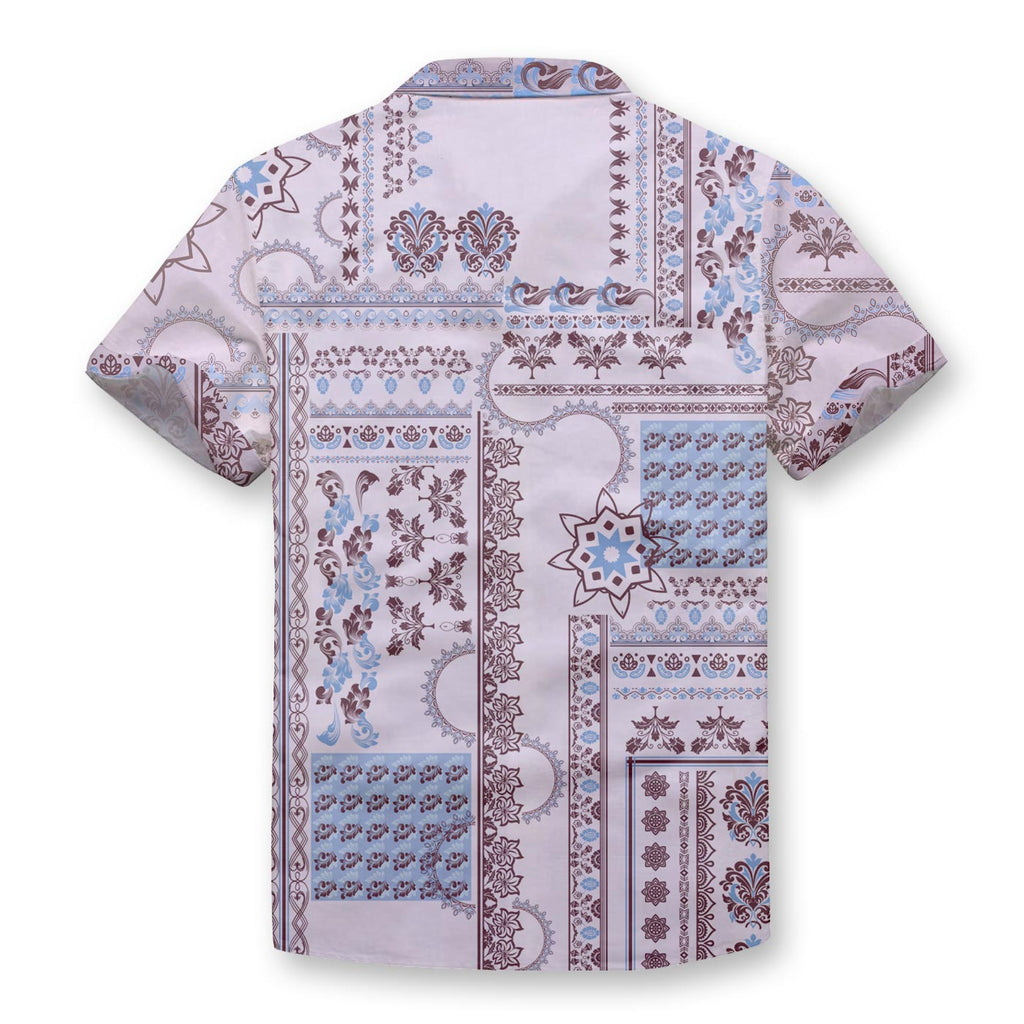 Ethnic Style Button Shirt