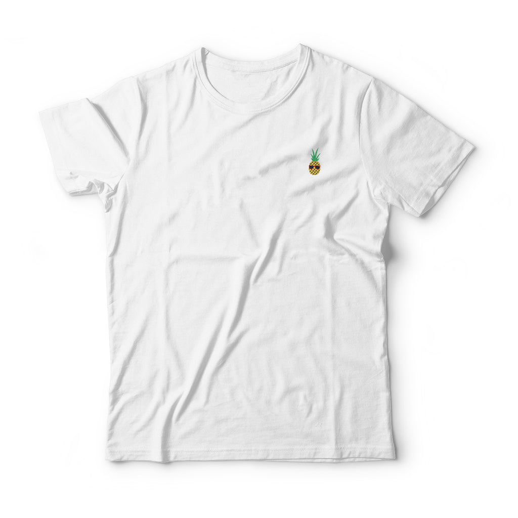 Pineapple Embroidered T-Shirt