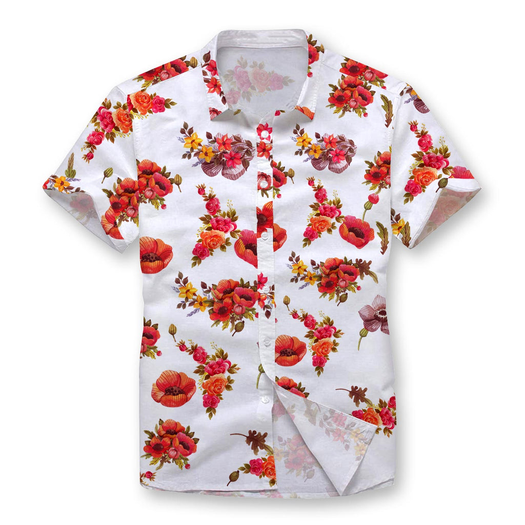 Poppy Button Shirt